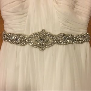 My Michelle Dresses - High school Winterfest / Snowfest White Dress